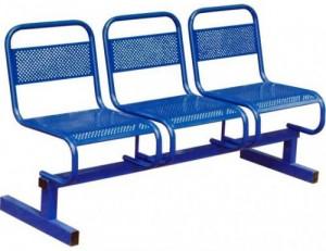 Секции стульев перфорированные