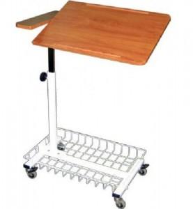 Стол прикроватный медицинский с поворотной столешницей М138-042
