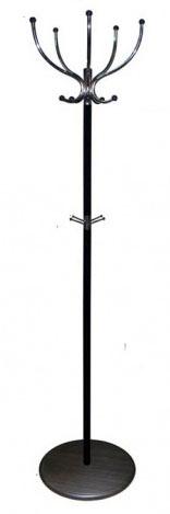 Вешалка офисная разборная М165-031 вешалка стойка напольная металлическая.