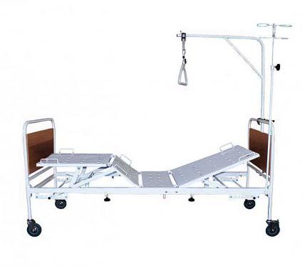 Кровать медицинская функциональная четырехсекционная 182-09 механическая, для лежачих больных