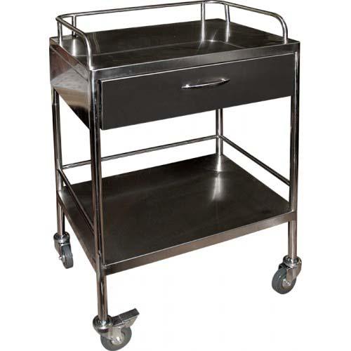 Столик инструментальный SH-T011 медицинский с ящиком