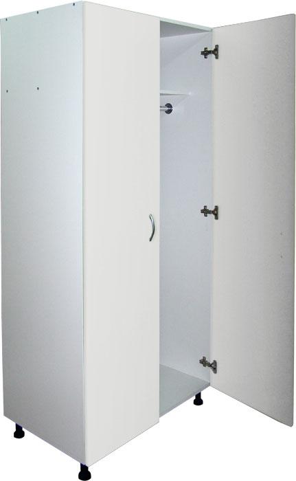 Медицинский шкаф для одежды М202-04 (гардероб)
