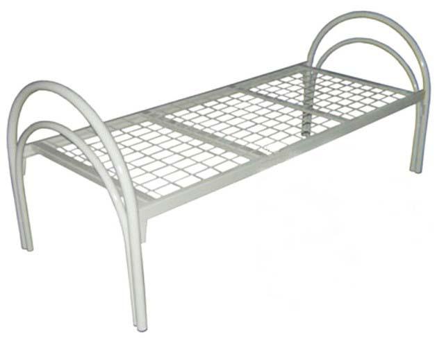 Кровать медицинская металлическая 181-02 на сварной сетке