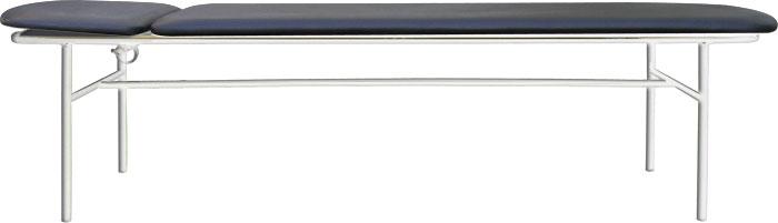 Кушетка смотровая М111-033 с регулируемым подголовником. Кушетка цельносварная.
