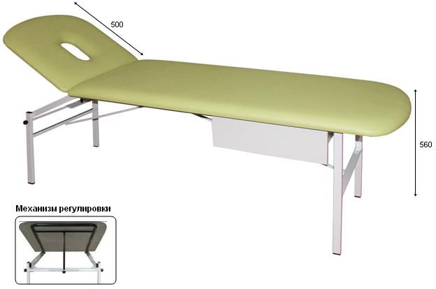 Кушетка для массажа медицинская М111-039