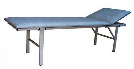 Кушетка медицинская смотровая М111-03-01 бюджетный вариант на металлическом каркасе.