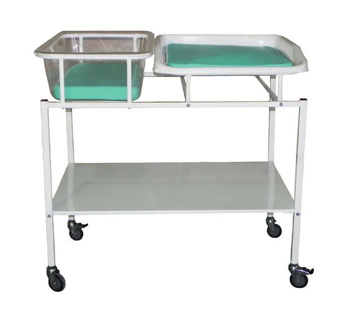 Кровать для новорожденных с пеленальным столиком 186