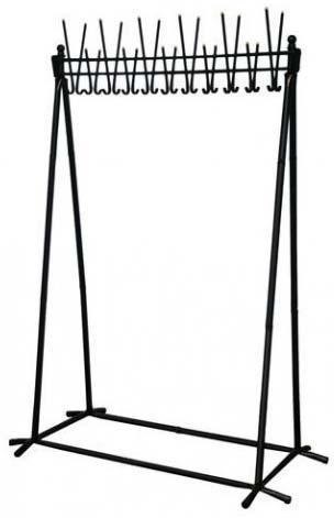 Вешалка гардеробная А22 разборная металлическая