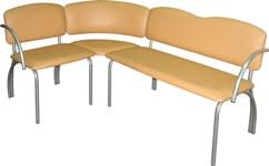 Угловой диван  М124-03 на металлическом каркасе(модульная система мягкой мебели)
