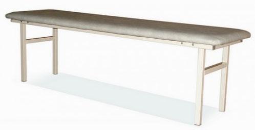 Банкетка-скамейка мягкая  М111/4 на металлическом разборном каркасе