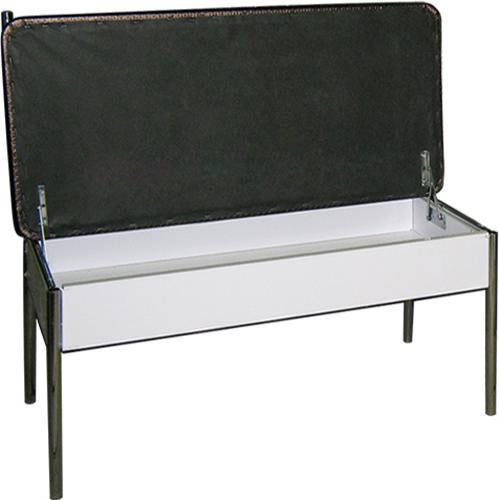 Диван двухместный М124-022 (двухместная банкетка со спинкой и с ящиком)