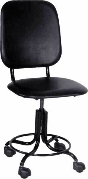 Кресло медицинское М101 без подлокотников на винтовой опоре