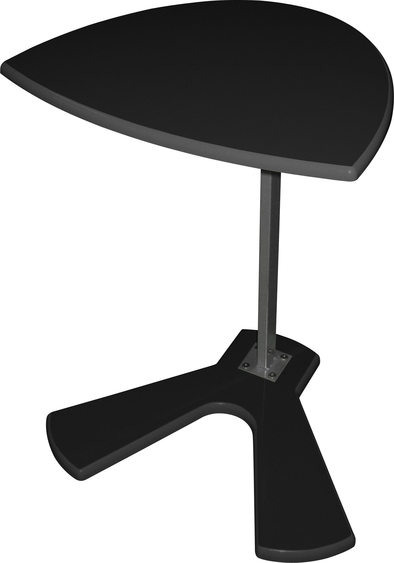 Напольный столик для ноутбука М134-04.  Регулируется по высоте.