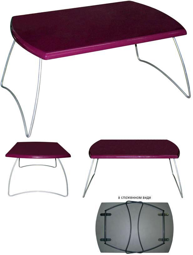 Компьютерный столик для ноутбука М143-03.  Столик для ноутбука в различных цветах.