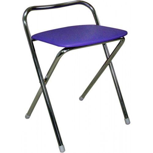 Складной стул-табурет М2-02 chrom в хроме гальваническом.