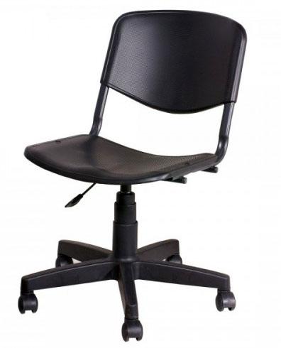 Кресло лабораторное ТЕКО низкое (медицинский стул) с регулировкой высоты