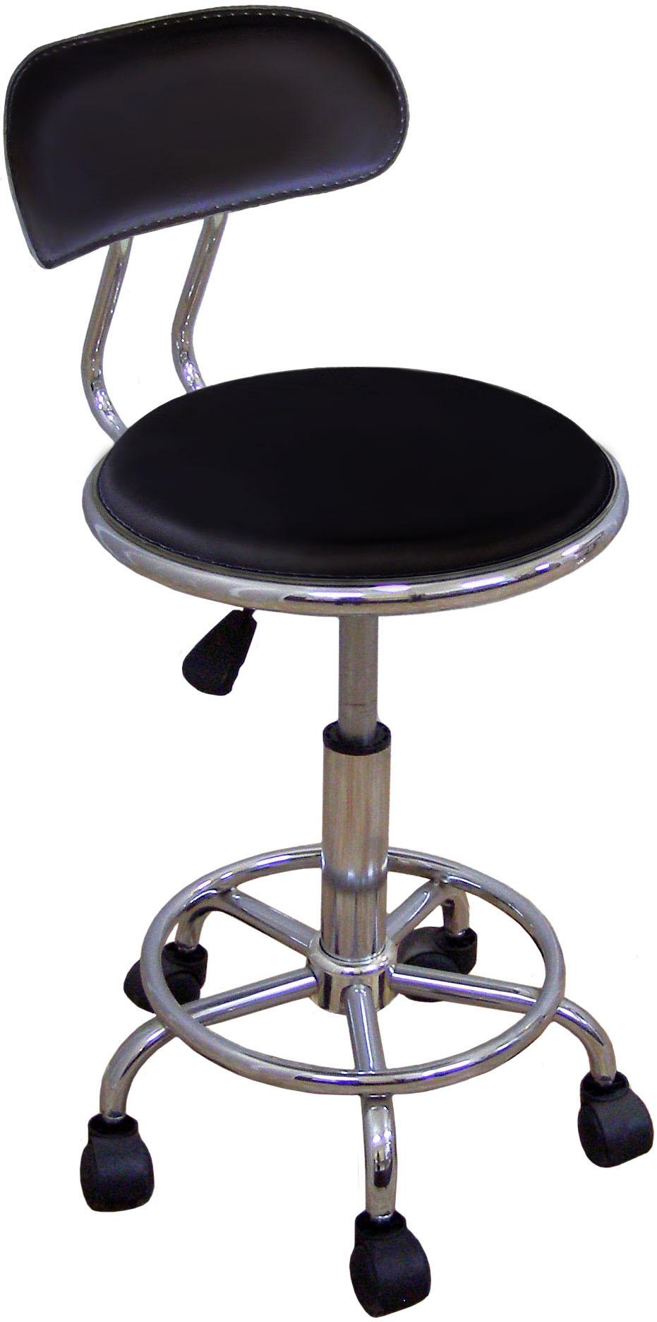 Медицинский стул HC-303 (стул лабораторный) со спинкой.