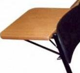 Задний столик модель: СТ-З - для секции стульев откидной (420 х 248 мм).