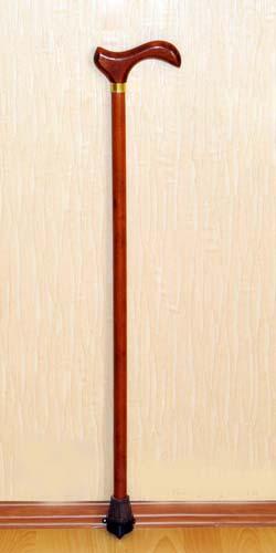 Деревянная трость с деревянной ручкой арт. ДР-А