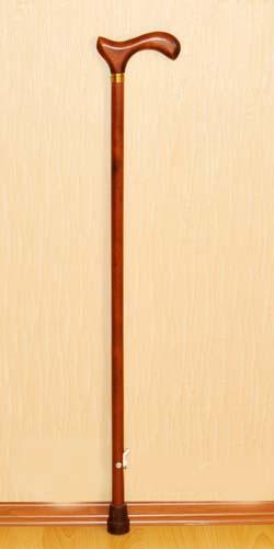 Деревянная трость с деревянной ручкой арт. ДР-Ш