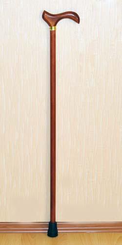 Деревянная трость с деревянной ручкой арт. ДР