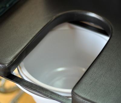 Инвалидная коляска - кресло кресло FS681 со стальной рамой