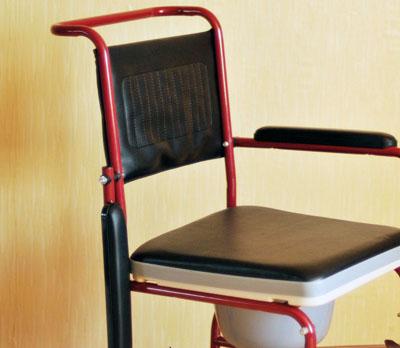 Инвалидная коляска - каталка FS692-45