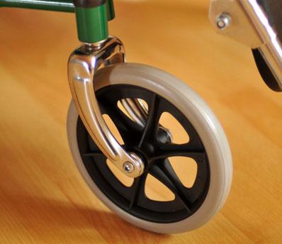 Инвалидная коляска - кресло кресло FS902GC со стальной рамой