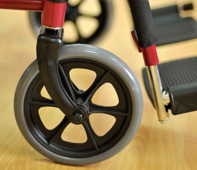 Инвалидная коляска - кресло кресло FS909В со стальной рамой