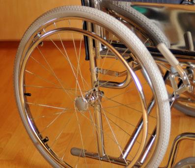 Инвалидная коляска - кресло кресло FS975 со стальной рамой
