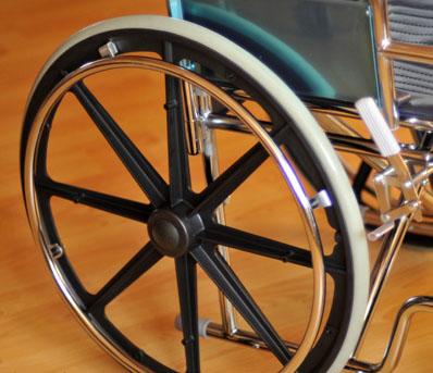Инвалидная коляска - кресло кресло LK6008 со стальной рамой