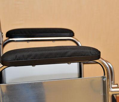 Инвалидная коляска - каталка LK6023 стальная