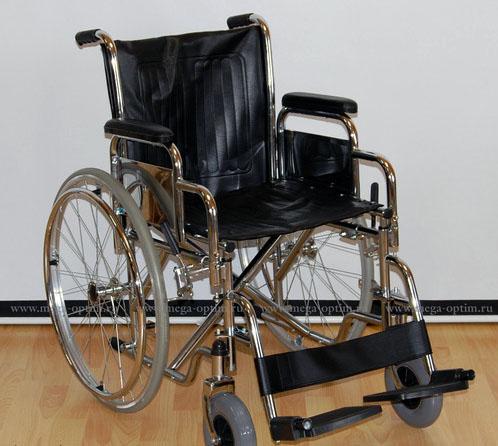 Инвалидная коляска - кресло кресло LK6101 со стальной рамой