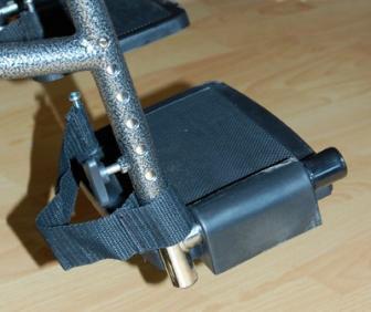 Инвалидная коляска - кресло LK6108-46BDFPQсо стальной рамой
