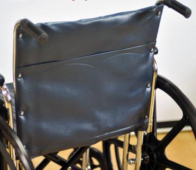 Инвалидная коляска - кресло кресло LK6118 со стальной рамой