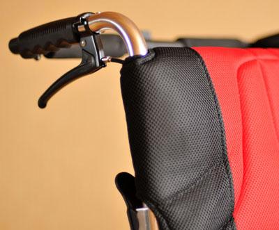 Инвалидная коляска - кресло кресло LK6118-46AQ алюминиевая конструкция