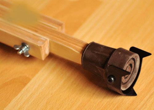 Костыли подмышечные деревянные с мягкими ручками 02-КИ с УПС