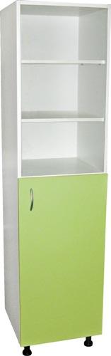 Шкафы для документов одностворчатые с арт. М202-011...14 полочные ЛДСП с дверцей