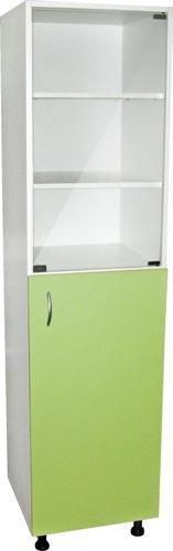 Шкафы для документов одностворчатые с арт. М202-011, 12, 13, 14 полочные ЛДСП с дверцей