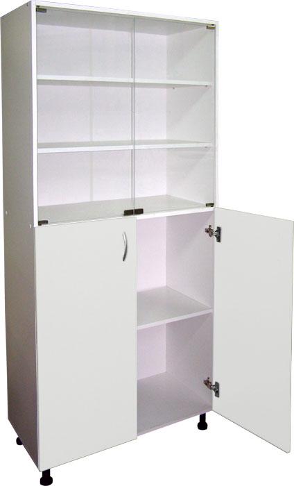 Шкафы для документов широкие арт. М 202-03...  полочные ЛДСП с дверцами медицинские