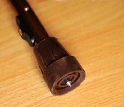 Трость складная с УПС с пластмассовой ручкой арт. ТР1 упс скл.(пл.р)