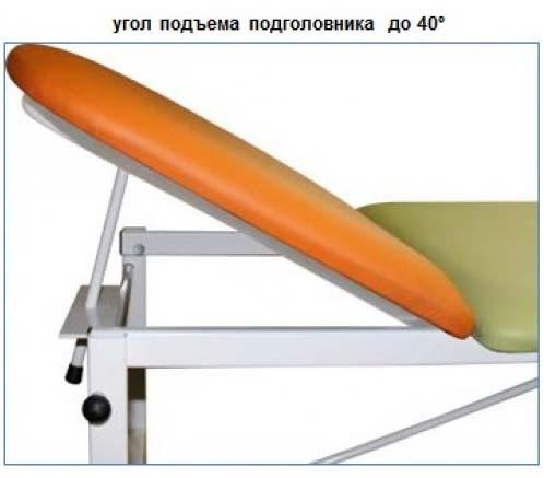 Кушетка медицинская смотровая детская М111-040 разборная на металлическом каркасе.