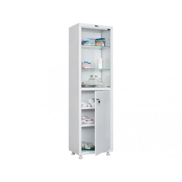 Шкаф медицинский для инструментов одностворчатый со стеклом Н203-01s