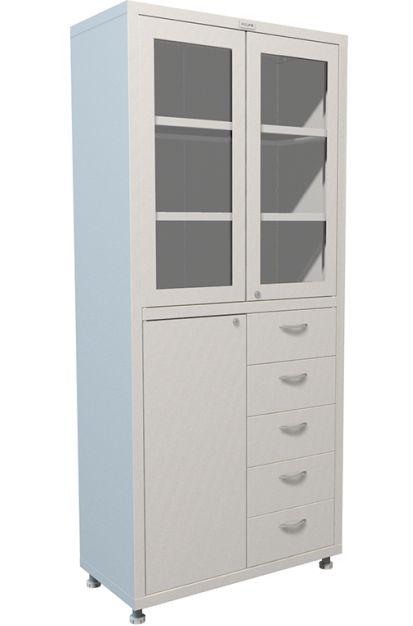 Шкаф для медикаментов двухстворчатый H-203-02R-5