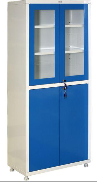 Шкаф-витрина медицинский со стеклом Н203-02R
