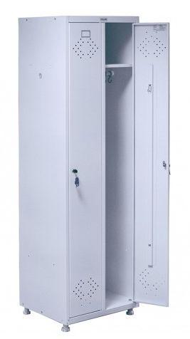 Шкаф для одежды металлический (локер) Н205-02