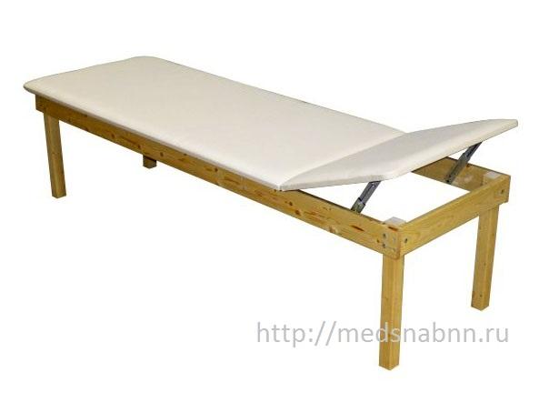 Кушетка физиотерапевтическая деревянная Н111-046