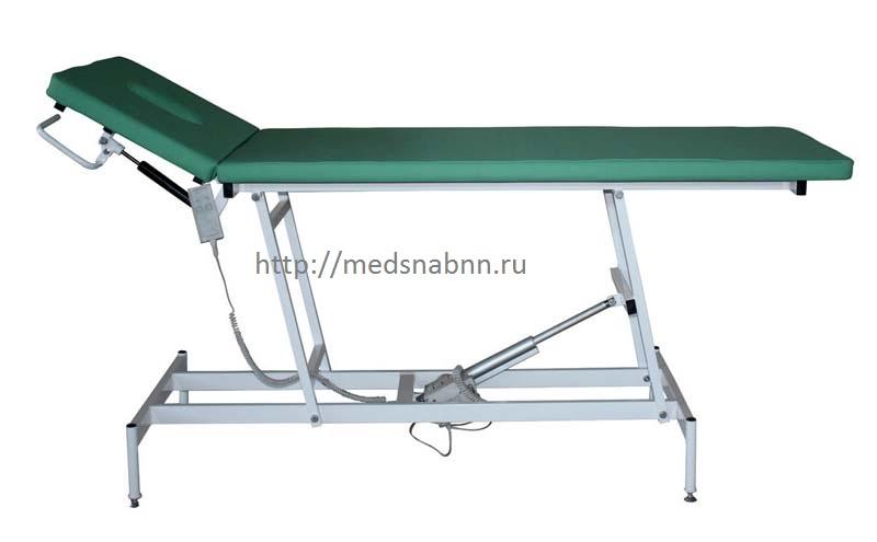 Кушетка медицинская с электроприводом КОМ-06  для массажа
