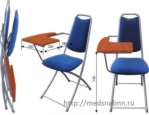 Стул с пюпитром (со столиком) М4-051