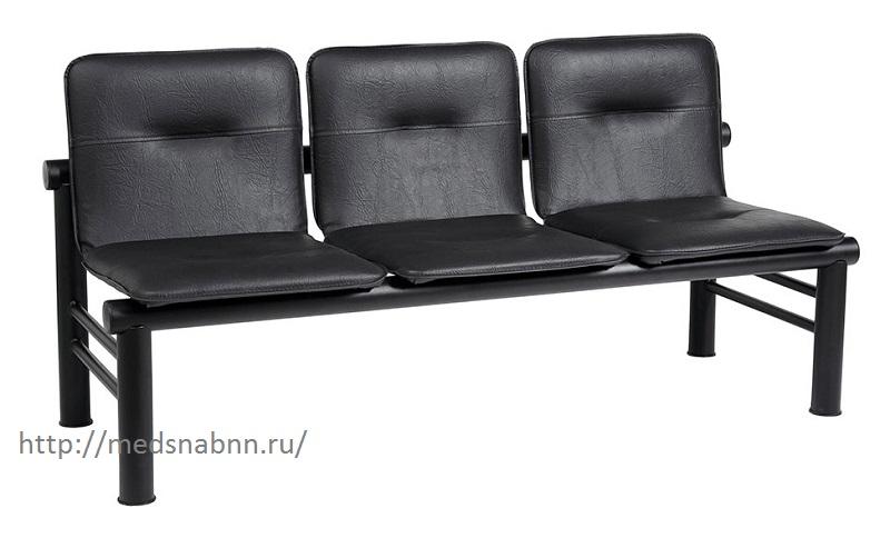 Многоместная секция стульев КС-105